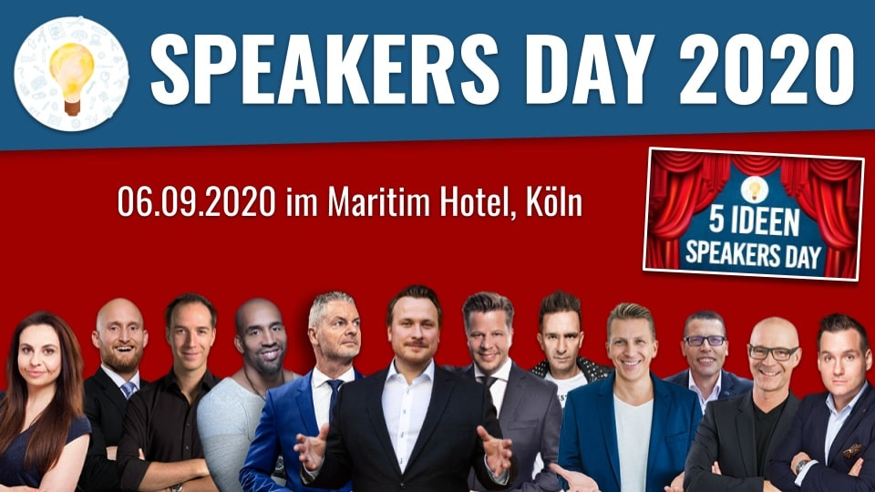 Der 5 IDEEN Speakers Day 2020 in Köln